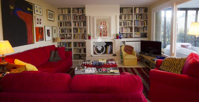 uniquevillasmallorca ground floor for sale in La Bonanova sofa