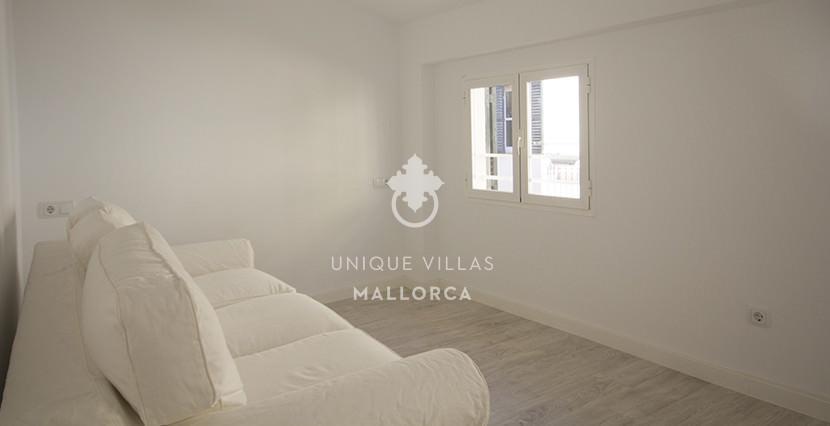 uniquevillasmallorca reformed flat for sale in Palma center bedroom 2,1