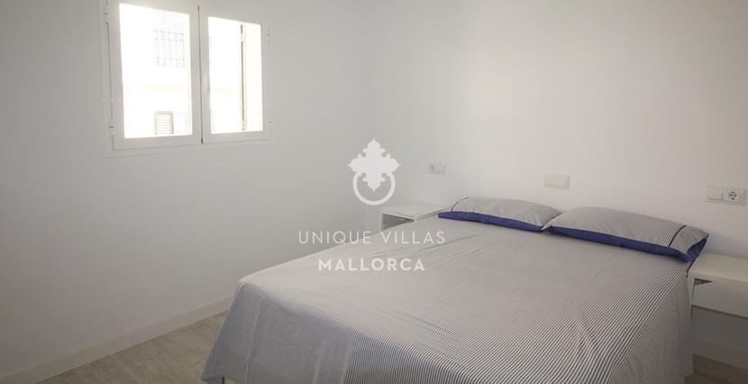 uniquevillasmallorca reformed flat for sale in Palma center bedroom