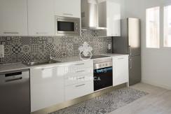 uniquevillasmallorca reformed flat for sale in Palma center kitchen 2