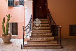 Flat with Character for Sale in Palma Center-uvm130a entrance
