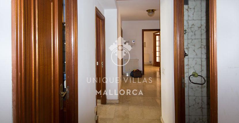 uniquevillasmallorca flat for sale in Palma center hall
