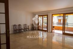 uniquevillasmallorca flat for sale in Palma center living area
