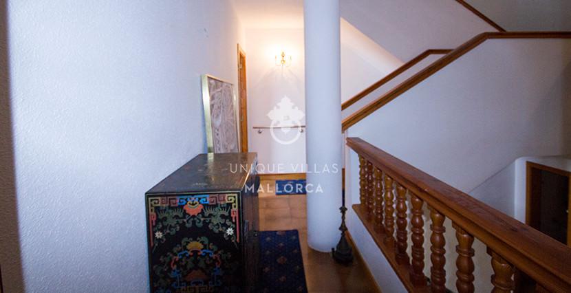 uniquevillasmallorca property for sale in cas catala vith sea views staircase