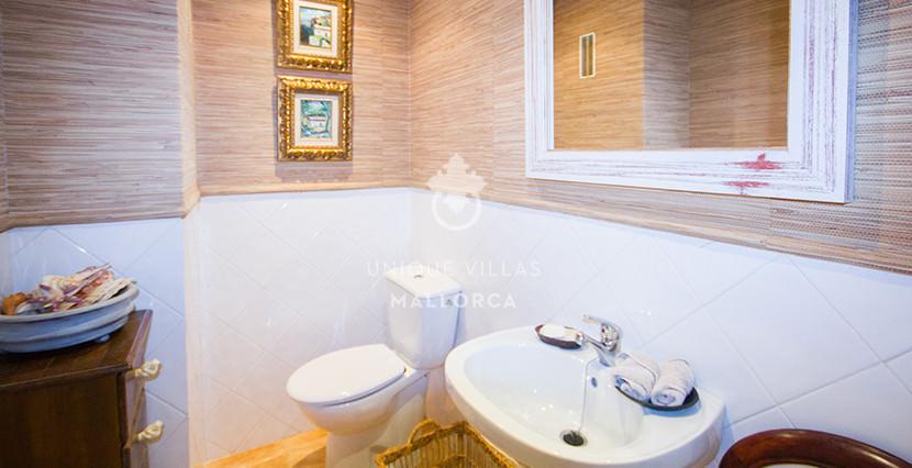 uniquevillasmallorca stylish duplex for sale in cas catala bathroom guest