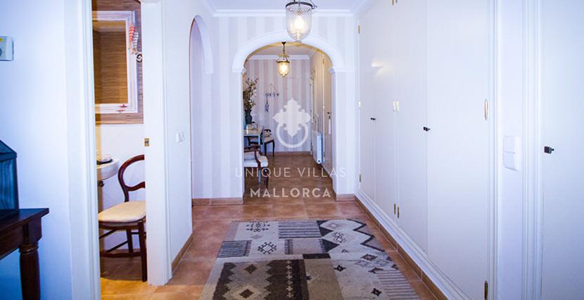 uniquevillasmallorca stylish duplex for sale in cas catala entrance