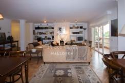 uniquevillasmallorca stylish duplex for sale in cas catala living area