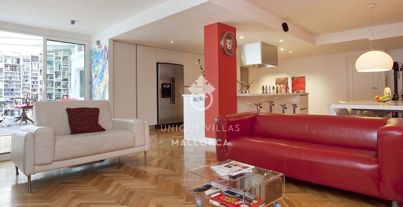 uvm52 loft flat for sale near palma living area