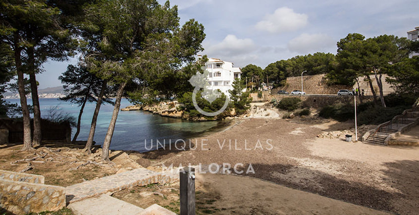 modern ground floor for sale in Santa Ponsa view