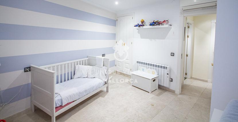 uniquevillasmallorca flat for sale in La Bonanova with swimming pool bedroom