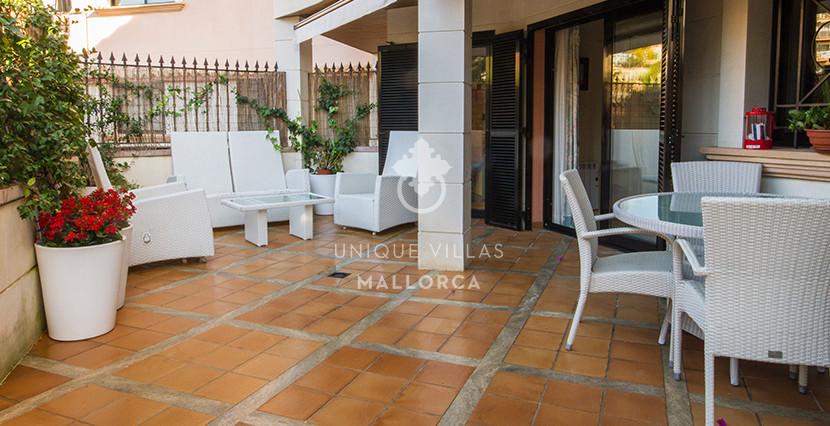 uniquevillasmallorca flat for sale in La Bonanova with swimming pool garden
