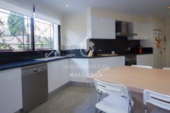 uniquevillasmallorca flat for sale in La Bonanova with swimming pool kitchen
