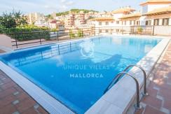 uniquevillasmallorca flat for sale in La Bonanova with swimming pool with views