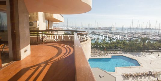 Spacious Flat with plenty of Natural light and Seaviews for Sale in Paseo Maritimo-uvm221