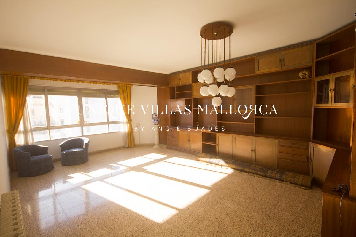 Espacioso Piso Con vistas Despejadas en Venta en Palma Centro-uvm225