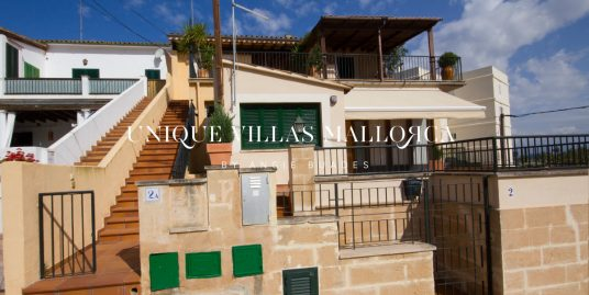 Four Bedroom Flat with Marvellous Seaviews for Rent in Son Veri-uvmA240