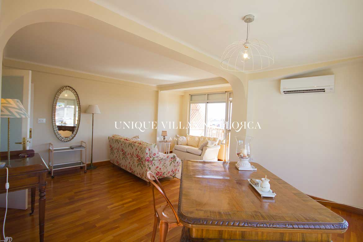 Tastefully Decorated Flat with Seaviews and Parking Space for Rent in El Terreno-uvm251
