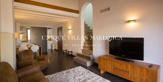 Elegant Apartment with Rooftop Terrace for rent in Palma center-ref.uvm248