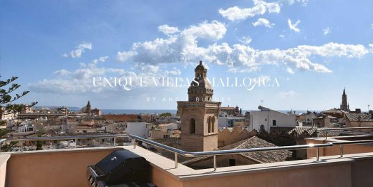 Penthouse with terrace reformed to rent in Palma center-uvma8.4