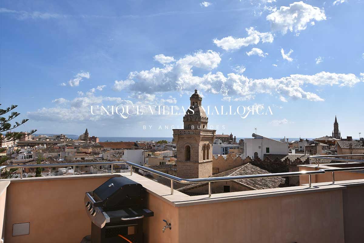 Ático con terraza reformado con altas calidades en alquiler en el centro de Palma-ref.uvm8.4