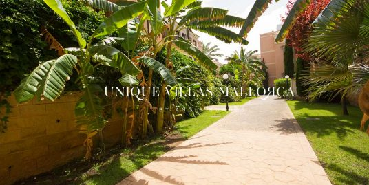 Bright Apartment with Amazing Rooftop Terrace for Rent in Portixol-uvm261
