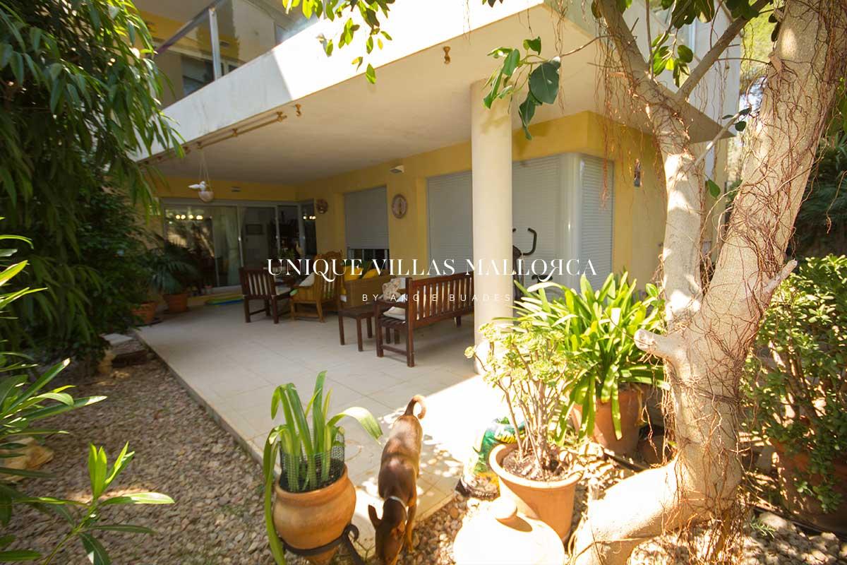 Planta Baja con Jardín privado y Piscina y Jardín comunitarios en venta en Sol de Mallorca-uvm262