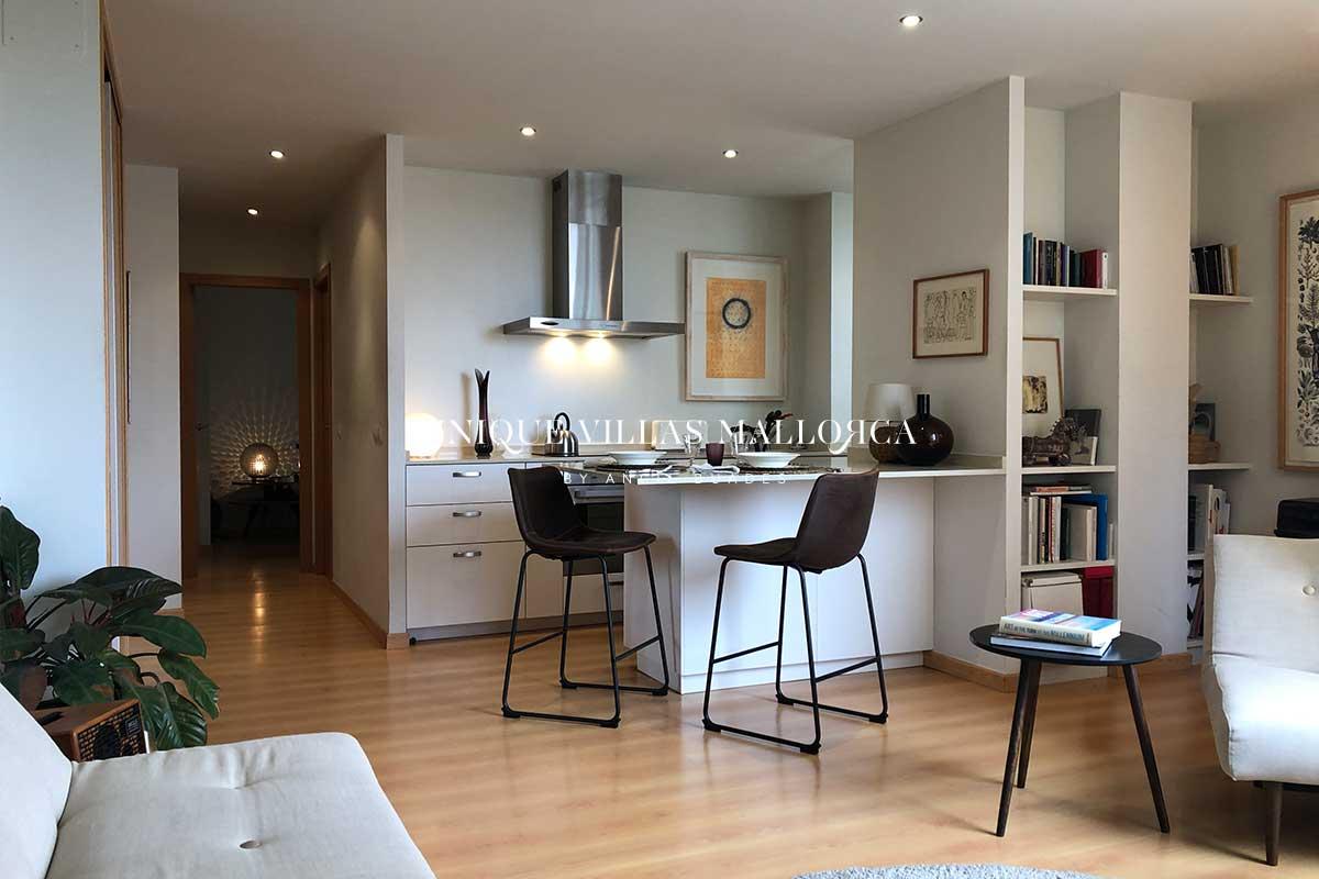 Acogedor piso de dos dormitorios en venta en Palma centro-uvm266