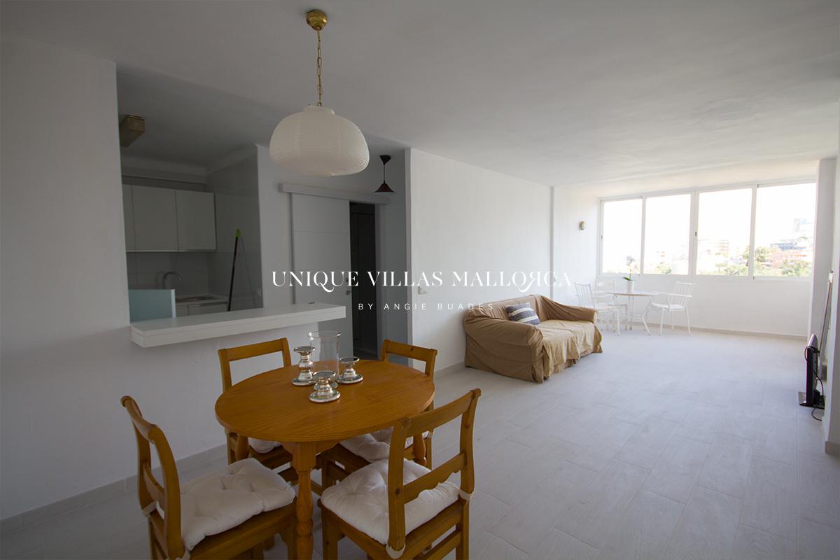 Piso de 1 dormitorio en alquiler en El Terreno-uvm280
